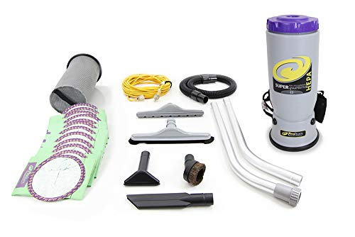 QuarterVac Backpack Vacuum Cleaner with Pro Tools
