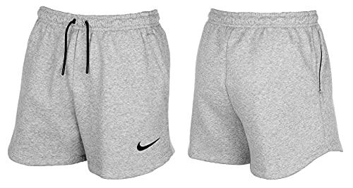 NIKE Women's Team Club 20 Short Pantalones Cortos, Dk Grey Heather/Black/Black, XS para Mujer