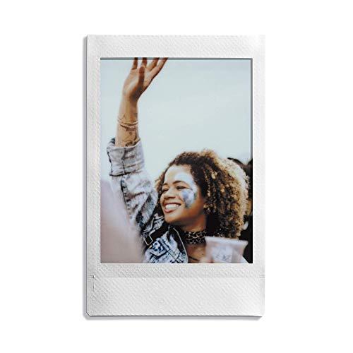 instax Link Smartphone Printer, Ash White & Mini Instant Film, 2X 10 Blatt (20 Blatt), Weiß