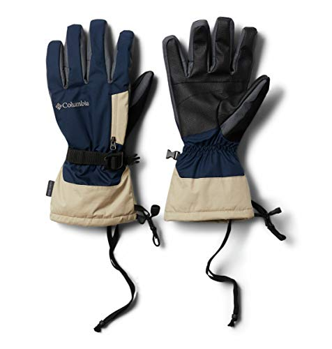 Columbia Bugaboo Interchange Handschuh für Herren, Herren, Bugaboo Men's Interchange Glove, Collegiate Navy/Antike Fossil, Medium