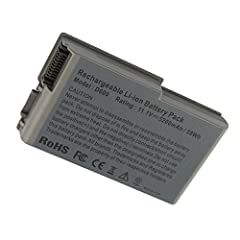 Battery type: Li-ion; Capacity: 5200mAh Voltage: 11.1V;Cells: 6-cell. Replacement battery type Dell:6Y270,3R305,312-0068,BAT1194,315-0084,OX217,1X793,310-4482,310-5195,312-0191,312-0309,312-0408,3R305,451-10132,451-10194,4P894,C1295,G2053A01,J2178/U1...