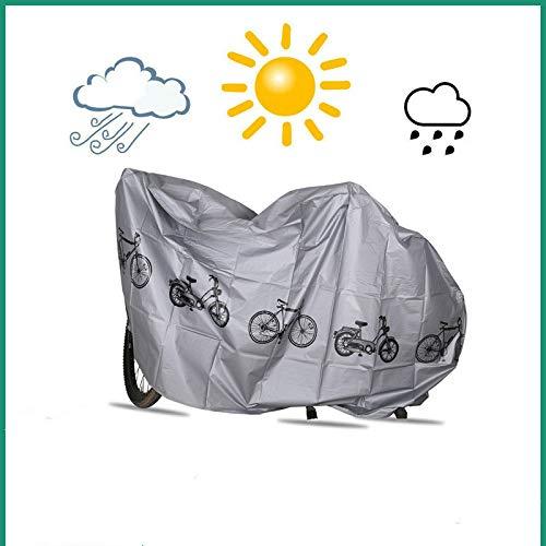 Basa beschermhoes voor tuinmeubelen, bescherming voor de vloer van de motorfiets, motief fiets, stofdicht, eenvoudig