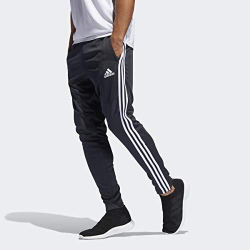 adidas Men's Tiro 19 Training Soccer Pants, Tiro '19 Pants, Dark Grey/White, Medium
