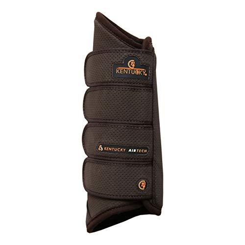 Kentucky Horsewear Air Tech Geländegamasche hinten, Größe:Full, Farbe:braun