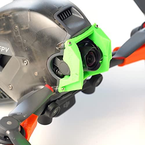 Protector de cámara / cardán adecuado para drones DJI FPV Frash Bumper (verde)