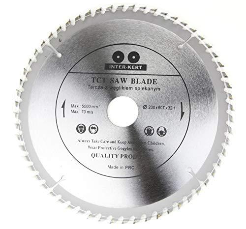 Hoja de sierra circular de alta calidad para madera, 230 x 32 mm (30 mm, 25,4 mm, 22,23 mm, 20 mm)
