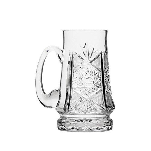 Russian Cut Crystal Beer Mug 22 oz