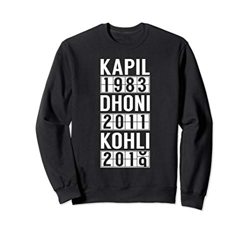 India Cricket Team Fan Jersey Sweatshirt