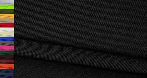 Stoffbook Tejido Nylon Cordura 600D Robusto negro, C633