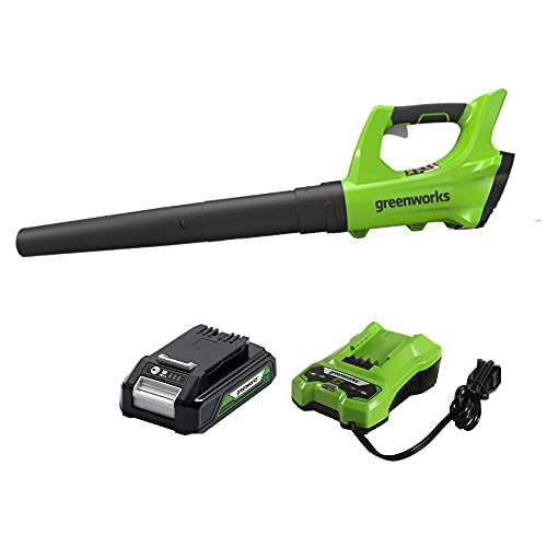 Greenworks 24V 330 CFM Axial Blower with 2Ah Battery and Charger 2400702