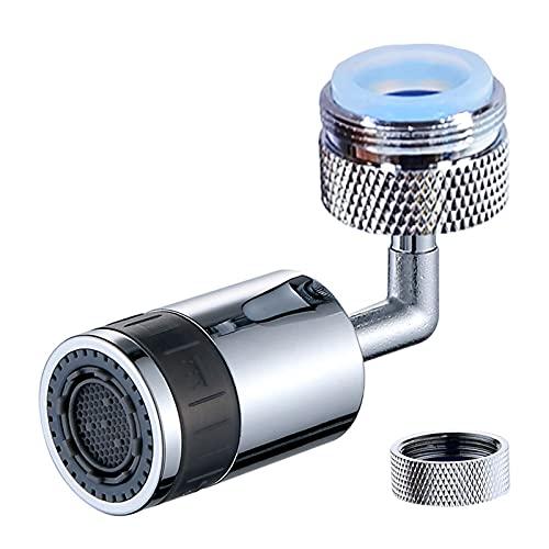 HONGHUAER 720 grados de salpicadura de salpicadura Faucet Spray Head Anti Splash Filtro Faucet Movible Tap Tap Awe Boquilla pulverizador para 24 mm - 22 mm Universal ( Color : Splash Filter A )