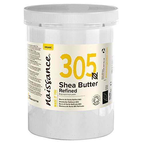 Naissance Sheabutter, raffiniert 1kg (1000g) BIO zertifiziert 100% rein
