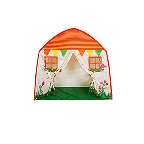 CSQ Indoor Tent, Children's Enlarged Tent Early Education Game Tent Toddler's Tent Like a Home Garden(135 * 90 * 140CM) Children's play house (Size : 135 * 90 * 140CM)