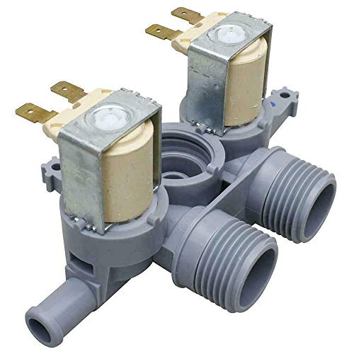 NEW Primeco WH13X10053, WH13X10037 Water Inlet Valve Compatible for GE Washer made by OEM parts Manufacturer, WH13X22314, PS3652834, 2692250, AP5629504, PS2354072, 1475767, AP4412517-1 YEAR WARRANTY