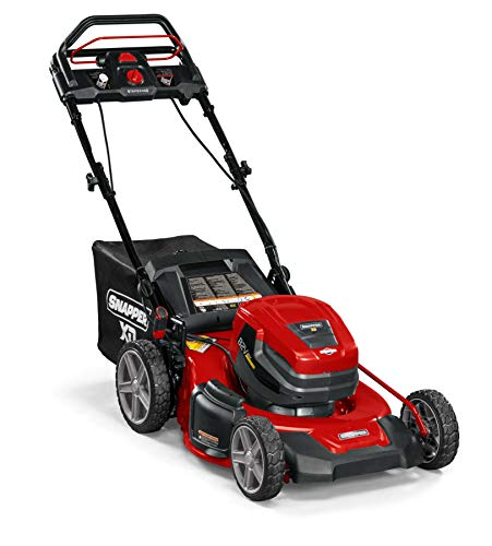 Snapper XD 82V MAX StepSense Electric Cordless 21-Inch Lawnmower Kit with (2) 2.0 Batteries and Rapid Charger, 1687982, SXD21SSWM82K