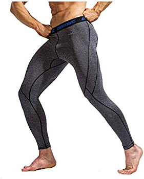 Idea Dry Compression Athletic Running Tights Leggings Men's Pants