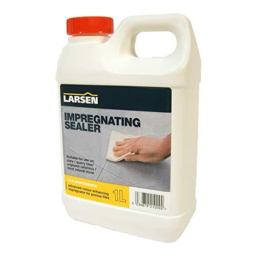 Nassboards Indian Sandstone Sealer, 1 Litre, Colour Enhancing Impregnating Larsen Sealant for Stone, Paving, Patio…