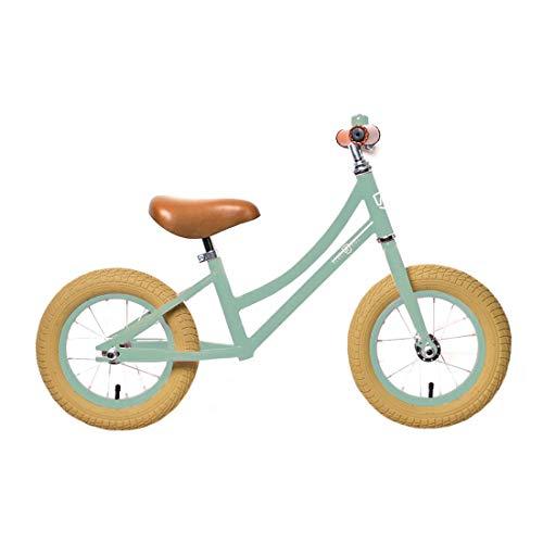 Rebel Kidz Air Classic Bicicleta Aprendizaje, Unisex, 12.5, verde claro