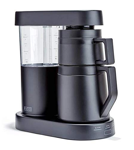Ratio Six Pour Over Coffee Maker w/ 40oz Thermal Carafe (Matte Black)