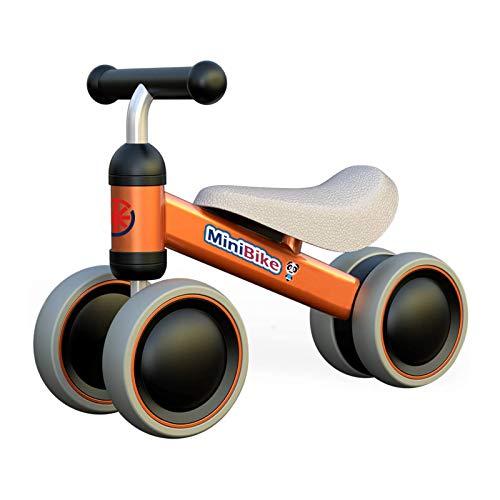 XIAPIA Bicicletta Senza Pedali per Bambini,Bici Senza Pedali 1 Anno Bicicletta Equilibrio Bici per Bambini Bici per Bambini Forma di Animale Carino Il Regalo Preferito del Bambino