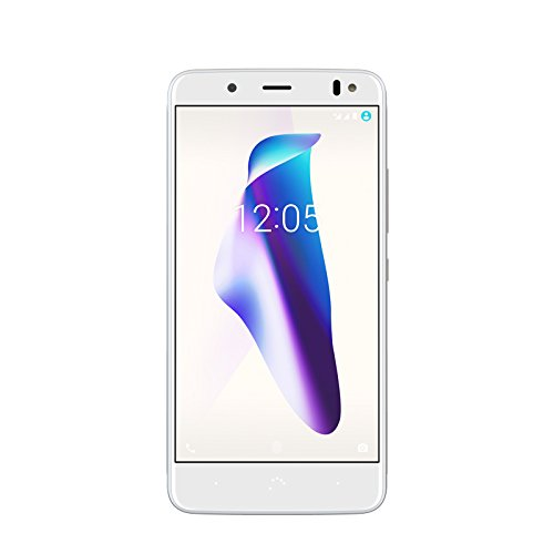 "BQ Aquaris VS - Smartphone de 5.2"" (4G, Wifi, Bluetooth 4.2, Qualcomm Snapdragon 430 hasta 1.5 GHz, 64 GB de memoria interna, 4 GB de RAM, cámara de 12 MP, Android 7.1.2), Oro/Blanco"