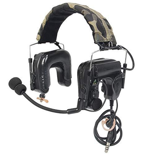 【Tienda Oficial de Z-TAC】 Micrófono Militar Z-Tactical zComtac IV Auriculares intrauditivos Auriculares tácticos Ajustables Z038