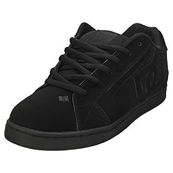 DC mens Net Skate Shoe Black/Black/Black 10.5 US