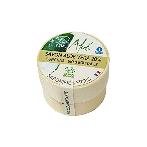 Pur'aloé Savon Aloe Vera 20% Surgiras 90 G 3464660003646