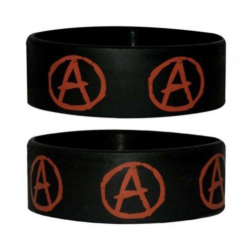 empireposter Symbols Anarchy - Pulsera de silicona para coleccionistas (ancho: 24 mm, diámetro: 65 mm, grosor: 1 mm)