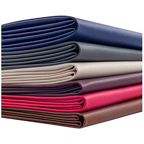 SSYBDUAN Möbelstoff Premium Bezugsstoff Zum Kunstleder Qualität Hartes Tragen Neue Weiche Textur Fühlen Sie Sich Kunstleder PU Neue Qualität Material Alter Heritage Look