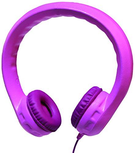 LogiLink HS0046 Kindersicherer gepolsterter Kopfhörer rosa