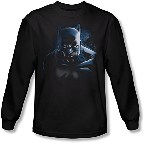 Batman - Männer tun nicht Mess With The Bat Langarm-Shirt in Schwarz, Large, Black