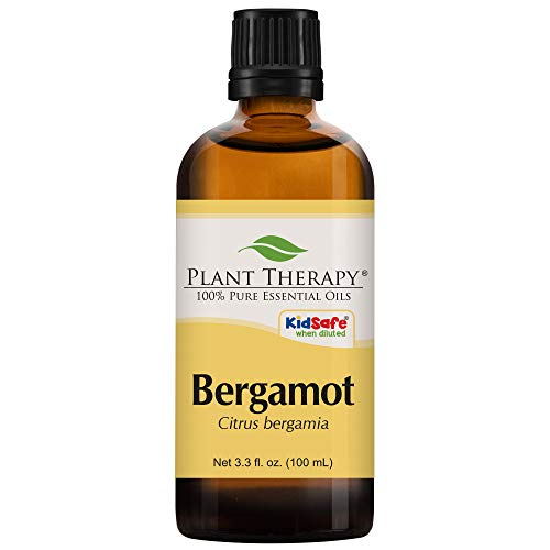 Plant Therapy Bergamot Essential Oil 100% Pure, Undiluted, Natural Aromatherapy, Therapeutic Grade 100 mL (3.3 oz)
