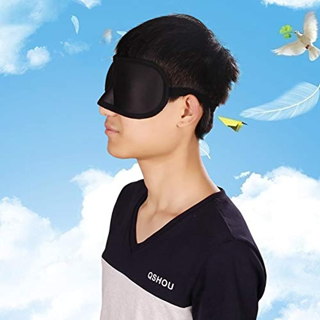 NOTE 3d睡眠マスク援助自然睡眠アイマスクナイトアイシェードカバーシェードアイパッチソフトポータブル目隠し休息旅行アイパッチ