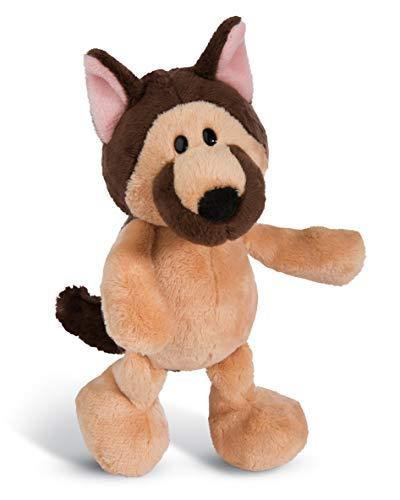 NICI 45103 Kuscheltier Schäferhund 20cm, Plüschtier für Mädchen, Jungen und alle Hundeliebhaber, braun