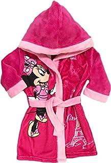 9f131dfd9cd61 Mgs33 Peignoir Minnie Mouse Rose Candy pour Fille Age 3 Ans, Tout Doux,  Superbe