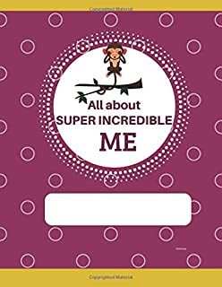 All About Super Incredible Me Raindrops: Blank canvas book perfect for story boarding for young children.  Let your Prince...