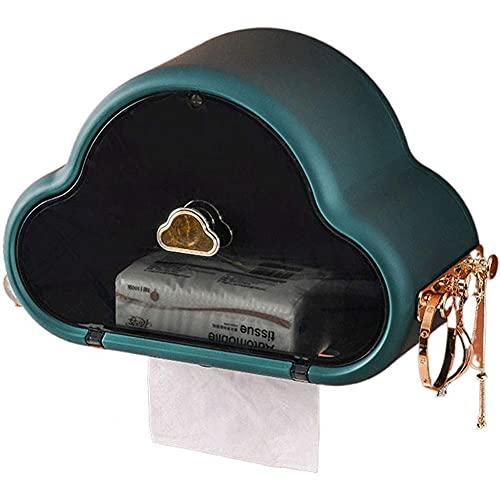 Ruluti Bella Scatola del Tessuto Supporto di Carta Igienica Moderna Distributore di Immagazzinaggio del Tovagliolo Dell'organizzatore di Caso Ornament Craft Bagno Bagagli