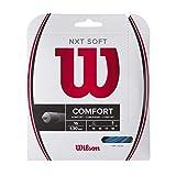 Wilson NXT Soft 16 Cordaje, Raquetas de Tenis, Diámetro 1.30 mm, Unisex-Adult, Azul Claro, Set