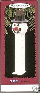 Hallmark Keepsake Ornament 1996 PEZ Snowman