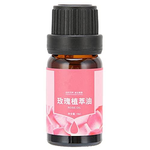 Aceite Esencial de Rosa, Aceites Esenciales Naturales Puros, Aceite Esencial de Aromaterapia de Grado Terapéutico, para Alivio del Estrés, Relajación y Cuidado de la Piel(10ml)