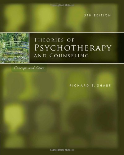 Theories of Psychotherapy & Counseling: Concepts and...