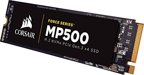 Corsair Force MP500, 240 GB, M.2 PCIe Gen. 3 x4 NVMe - SSD, Velocità di Lettura fino a 2800 MB/s