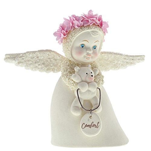 """Department 56 Snowbabies """"Angel of Comfort"""" Porcelain Figurine, 4.5"""""""