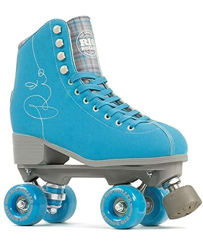 Stateside - Pattini a rotelle con scritta 'RIO', colore: Blu