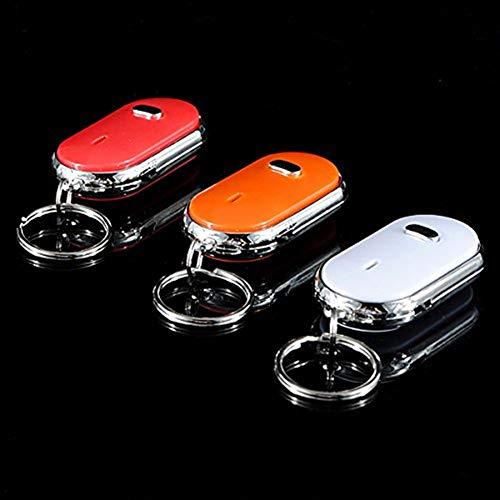 EsportsMJJ Whistle Key Finder Keychain Sound Led met fluitje