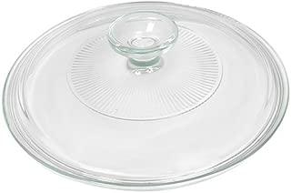 Corningware French White 2.5 Quart Fluted Round Glass Lid