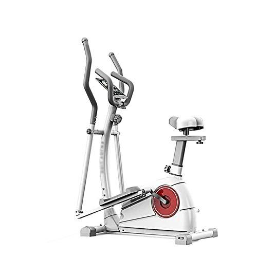 Máquina elíptica silenciosa controlada magnéticamente, máquina de entrenamiento de fitness cardio, construcción de marco extremadamente robusta, entrenador de elipse magnético para el hogar Magnético