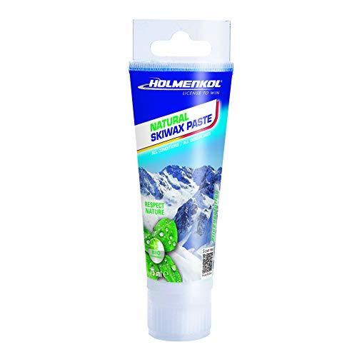 Holmenkol Unisex– Erwachsene Paste Skiwachs, neutral, 75 ml