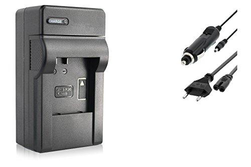 Cargador (Coche/Corriente) para Qumox SJ4000, SJ5000, SJ6000 / SJCam M10 / BOOMYOURS. v. Lista!